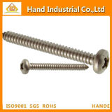 Ss304 Phillips Pan Head Metal Self Tapping Fasteners Screw
