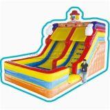 Cheer Amusement Clown Themed Children Inflatable Slide Amusement Equipment