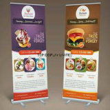 Portable Outdoor Indoor Display Trade Show Retractable Roll up Banner Stand, Aluminium Roll up Stand