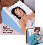 Wedge Pillow Pregency Pillow Triangle Pillow for Patient