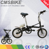 36V Electric Bike 14 Inch Folding Electric Bicycle with Lithium Battery