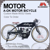 6.5L Tank 2017 New Cool Motor Bicycle Gas Motor Bike (MB-16)