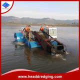 Water Hyacinth Reed Cutter Cutting Ship /Rubbish Collection Cleaning Boat Vessel Trash Skimmer Water Clean Machine in Lake River Dam Aquatic Weed Harvester