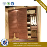 Space Saving Foldable Honey Color Home Bed (HX-LC2042)