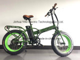 Big Power Fat Tire 20inch Folding Mountain Electric Bicycle for Adults