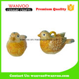 Home Decoration Ceramic Cute Bird Toy for Gifts