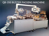 PVC-Papercard Packing Battery Blister Shape Package Machine with Disk Table