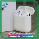 I10 Tws Wireless Bluetooth Headset Earphone Touch Control 3D Headset Surround Sound and Charge Case for iPhone Android Phone