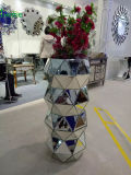 Home Hotel Decorative Indoor Outdoor Mirrored Flower Vase