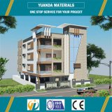 Pre-Engineering High Rise Steel Structure AAC Wall Panel Hotel Building