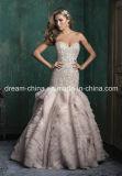 Stunning Beading Bodice Mermaid Trumpet Wedding Dress Prom Dress Wedding Gown (Dream-100033)