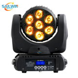 Cheap 7*10W 4in1 RGBW LED Moving Head Beam Light with DMX in&Powercon