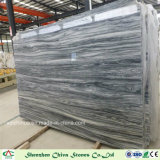 Black Mountain White Marble Slabs for Tiles/Countertop/Vanity Top/Wall Tiles