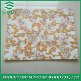 1.8mm/2mm/3mm/4mm New Design Style Fancy Colorful Grooved Slot Paper Laminated Faced Coated Overlaid Plywood/MDF Board with Best Price