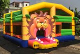 Giant Inflatable Lion Theme Bouncer Funcity Playground for Children