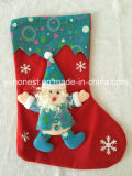 Merry Christmas Gifts Tube Stocking Decoration 3D Christmas Sock