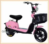 Princess Model Pink Color Lady's Electric City Bike Bicycle with Long Distance Riding