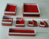 Cheap Red Paper Jewelry Packaging Gift Box