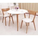 BS Solid Wood Round Table Home Furniture for Modern Furniture