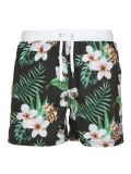 Men′s Poly Elastane 4 Way Stretch Printed Boardshorts Surf Shorts