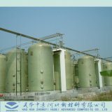 FRP GRP Pressure Tank Chemical Storage Vertical Tank