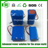 Hot Selling Rechargeable Battery Pack Li-ion Battery Pack Customized 18650 Battery Pack Voltage 3.7V/7.4V/11.1A/14.8V/24V/36c/48V Capacity 2.2ah-200ah