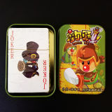 Children Mole Hero Board Cards Game with Tin Box