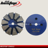 20# Soft Bond Diamond Metal Grinding Pad for Concrete Polishing