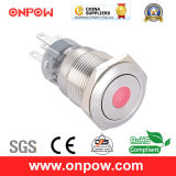 Onpow 19mm Push Button Switch (LAS1-AGQ-11D/G/12V/S, CE, UL, CCC, RoHS)