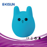 New Lamp Ce RoHS Portable 7-Colors LED Baby Night Light for Christmas Gift