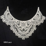 Lace Neckline Trim Applique Embroidery Patch Motif Embellishments Decorative Patches X010