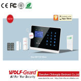 GSM Home Security Fire Burgular Alarm with Touch Keypad RFID
