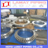ASTM B16.5 A105 A182 F304 F316 Weld Neck Raised Face Forged Flange