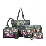 Wholesale Custom Cheap Black Satin Brushes Bag Set for Gift