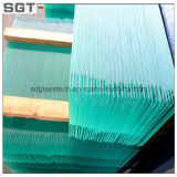 6mm Toughened Safety Glass for Louvre Glass with Ce & ISO