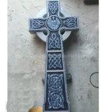 American Customized Carving Granite Cross Shape Headstones