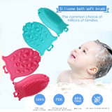 Soft Baby Body Massage Silicone Baby Bath Brush