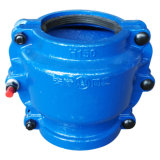 Pipe Repair Clamp H150, Pipe Repair Coupling, Repair Pipe Clamp for Cast Iron Pipe and Ductile Iron Pipe. Leaking Pipe Quick Repair. Blue Color