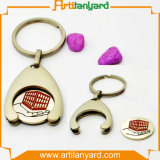 Customer Logo Trolley Coin Keyholder