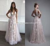 Sheer Party Cocktail Dress Lace Tulle Prom Evening Dresses Gown Ld1151