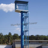 Hot Dipped Galvanized Self Support Steel Range Tower
