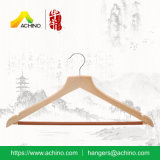 Wooden Suit Hangers with Non Slip Bar (WS400)