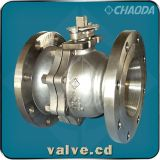 Flanged Reduced Bore Floating Ball Valve