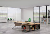 Modern Executive Desk L Shape Modular Office Furniture (HF-FB2122B)