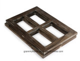Cade Rustic Wall Decor Window Barnwood Frames Decoration for Home or Outdoor