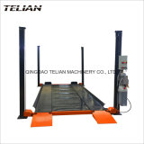 2700kg Capacity 2 Layer Four Post Simple Parking Equipment for Home Garage