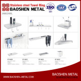 Stainless Steel Towel Ring Wall Towel Rack Rail Commodity Shelf for The Bathroom Accessories