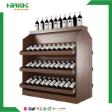 Wholesale Display Wooden Supermarket Wine Rack