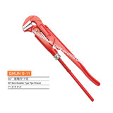 G-11 Construction Hardware Hand Tools 90 Degree Bent Swedish Type Pipe Wrench