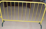 Galvanized or PVC Coated Crowd Control Barrier Temporary Fence